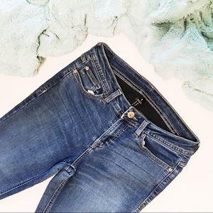 Jordache Skinny Dark Blue Jeans - 8
